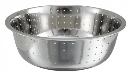 """Winco CCOD-15L Stainless Steel Chinese Colander 15"""""""