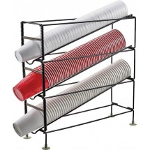 Winco CDR-3 3-Tier Cup Dispensing Rack