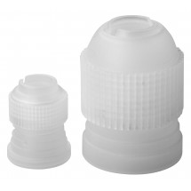Winco CDTC-2 Cake Decorating Plastic Tube Coupling