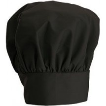 Winco CH-13BK Black Chef Hat with Adjustable Velcro Closure 13""