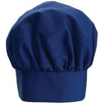Winco CH-13BL Blue Chef Hat with Adjustable Velcro Closure 13""