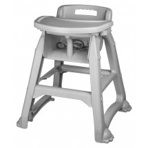 Winco CHH-25 Plastic High Chair with Tray