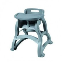 Winco CHH-29 Gray Plastic High Chair