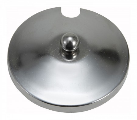 Winco CJ-2C Stainless Steel Slotted Cover for CJ-7P and CJ-7G