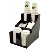 Winco CLSO-2T 3 Tiers 2 Stacks Cup and Lid Organizer