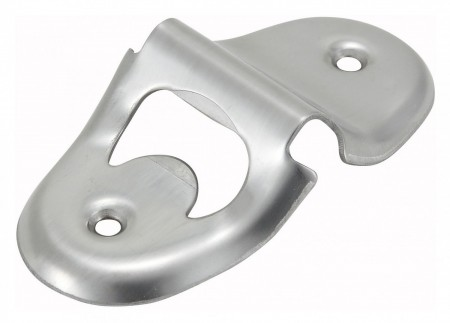 Winco CO-401 Stainless Steel Under Counter Bottle Opener 4-1/4""