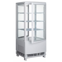 Winco CRD-1 White Countertop Refrigerated Beverage Display