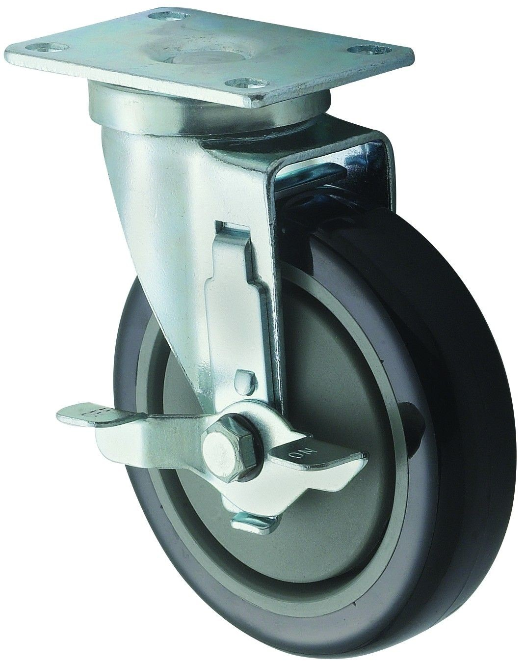 Winco CT-23B Universal Caster Set with Brake 5""