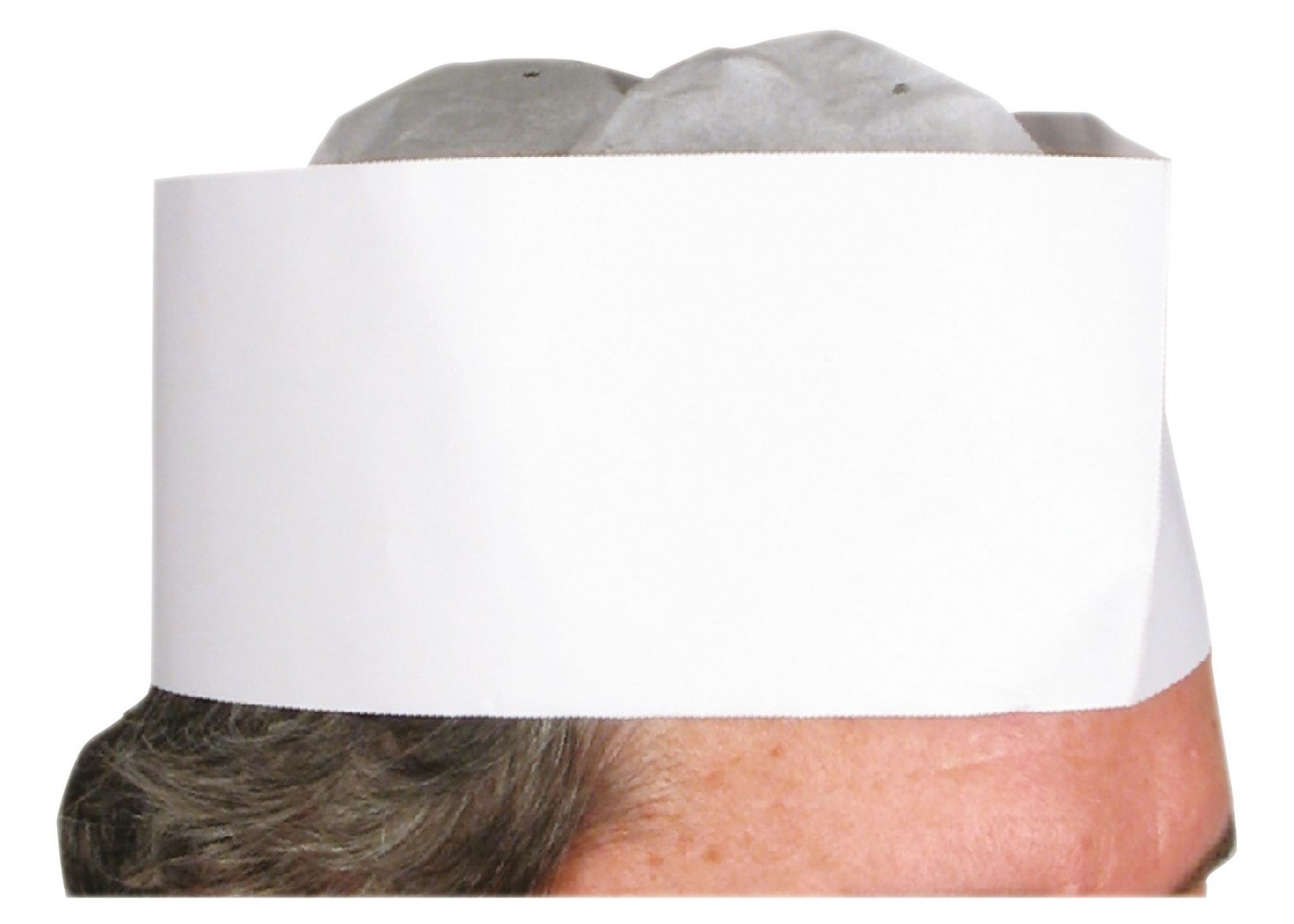 Winco DCH-3 Disposable Chef Hat 3""