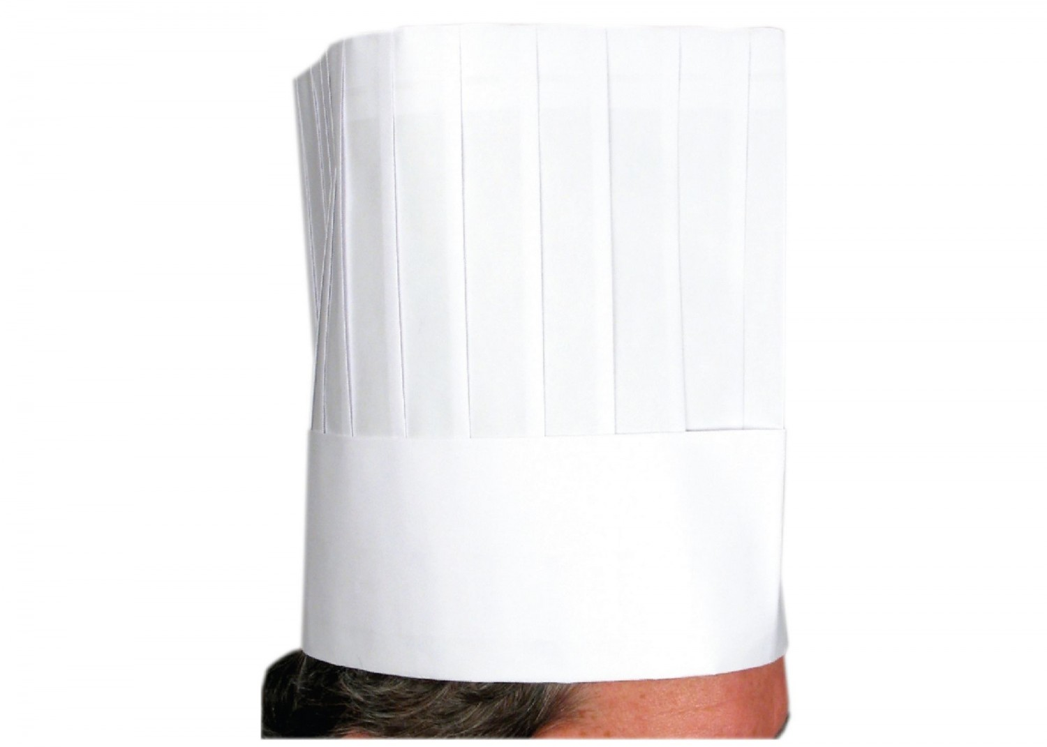 Winco DCH-9 Disposable Chef Hat 9""