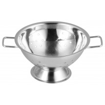 "Winco DDSC-101S Mini Stainless Steel Colander 3-3/4"" Dia"