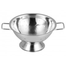 "Winco DDSC-102S Mini Stainless Steel Colander 4"" Dia"