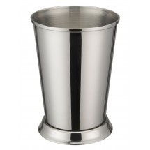 "Winco DDSE-102S Stainless Steel Mint Julep Cup 3-3/8"" Dia x 4-3/4"" H"