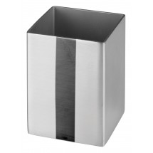 Winco DDSG-102S Stainless Steel Square Sugar Packet Holder 1-3/4""