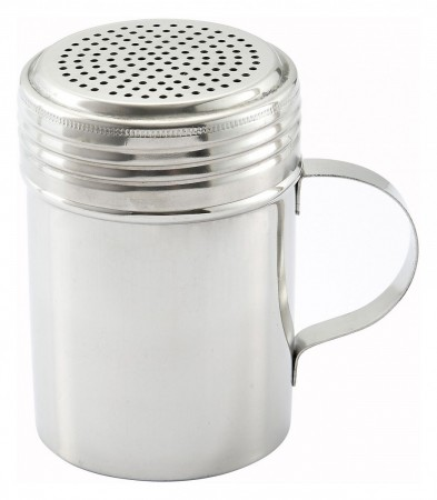 Winco DRG-10 Stainless Steel Dredge with Handle 10 oz.