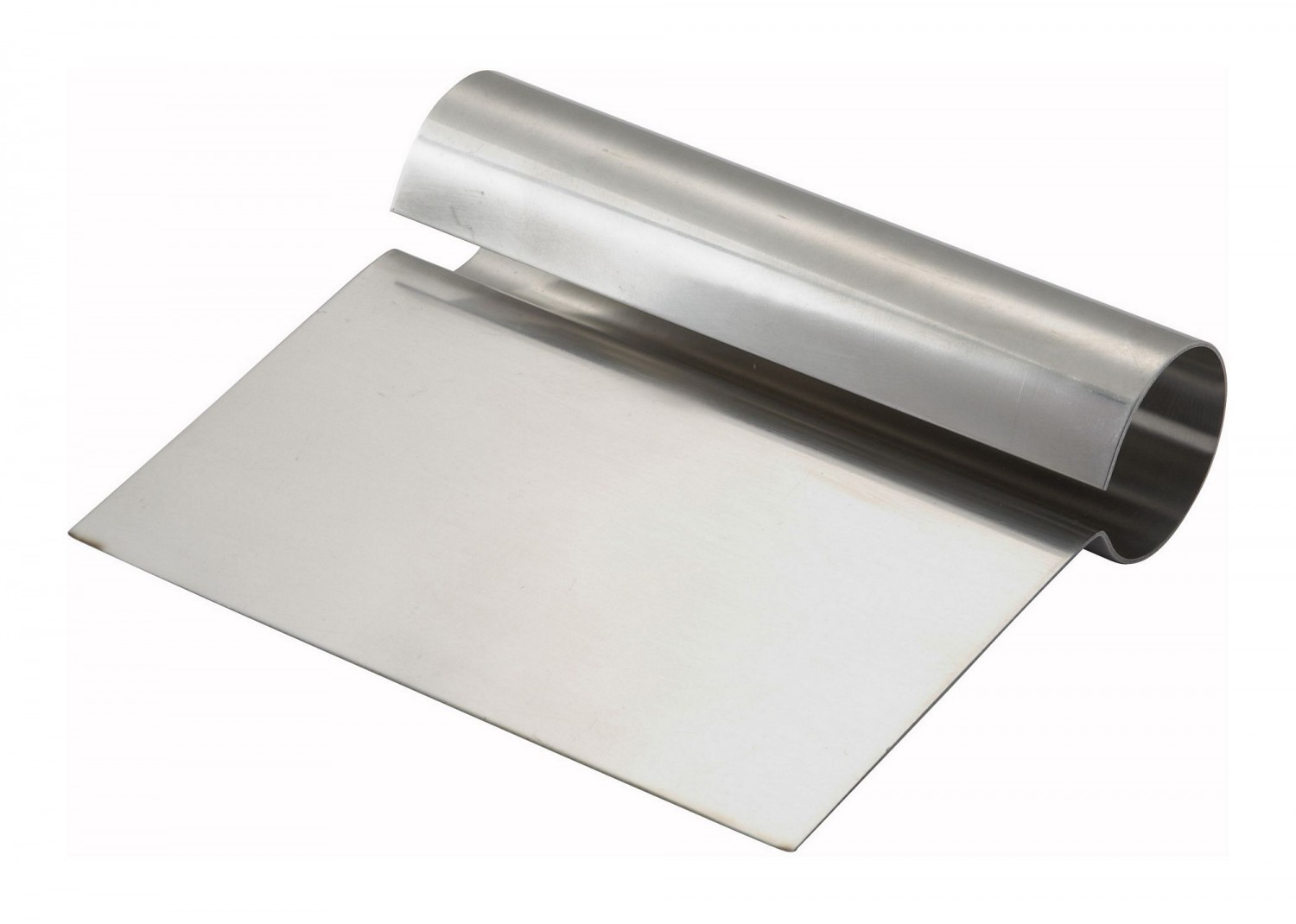 Winco DSC-1 Stainless Steel Dough Scraper