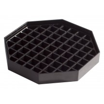 Winco DT-60 Count Drip Tray with Removable Grid 6""