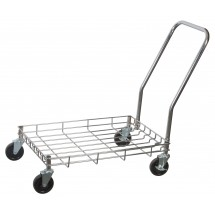 "Winco DWR-2617 Wire Dolly for Dough Boxes 26-3/4"" x 17-3/4"" x 2-3/8"""
