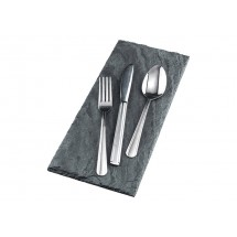 Winco Dominion 5-Piece Medium Weight Flatware Set - Service for 12