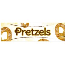 Winco EDM-2PRS Pretzel Sign for EDM-2