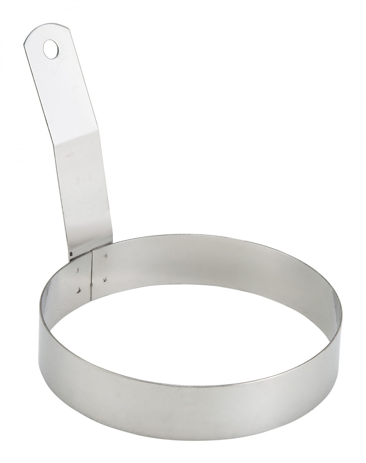 Winco EGR-5 Round Egg Ring with Handle 5""