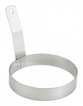 """Winco EGR-5 Round Egg Ring with Handle 5"""""""