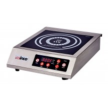 Winco EIC-400 Commercial Electric Induction Cooker, 120V, 1800W
