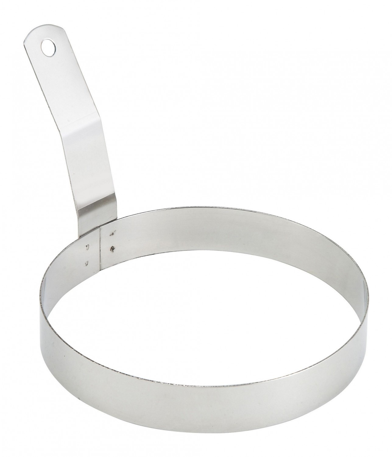 Winco EGR-6 Round Egg Ring with Handle 6""