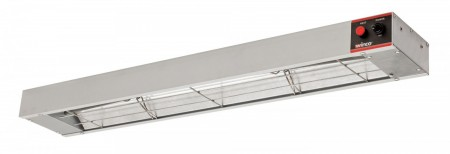 "Winco ESH-36 36"" Electric Infrared Strip Heater with Undermount Brackets, 850W"