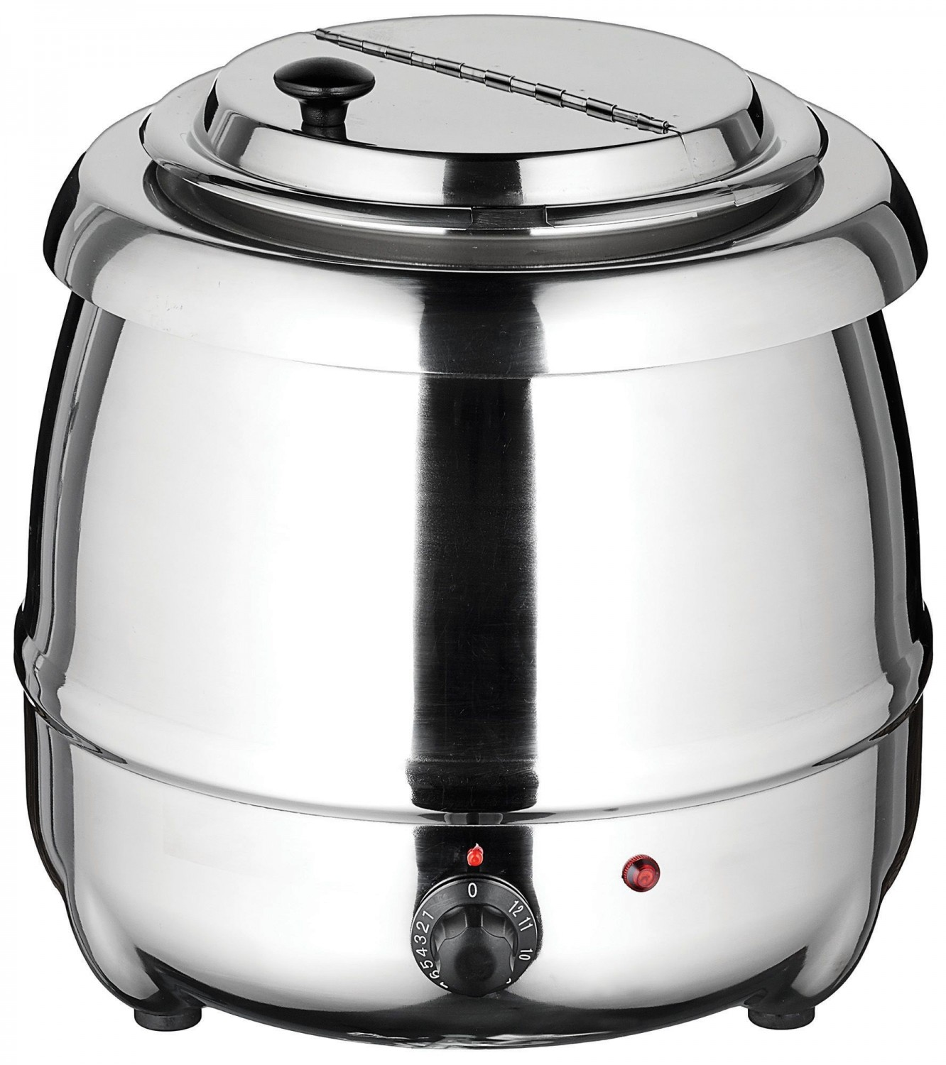 Winco ESW-70 Electric Stainless Steel Soup Warmer 10 Qt.