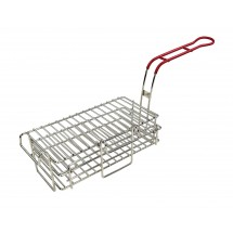 "Winco FB-03 Chimichanga Burrito Fry Basket, 11-1/2"" x 6"" x 3-7/8"""