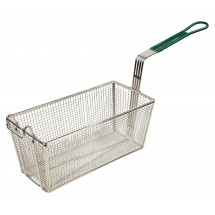 Winco-FB-30-Heavy-Duty-Fry-Basket-with-Green-Handle