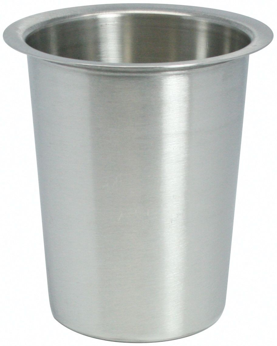 Winco FC-SL Stainless Steel Solid Flatware Cylinder