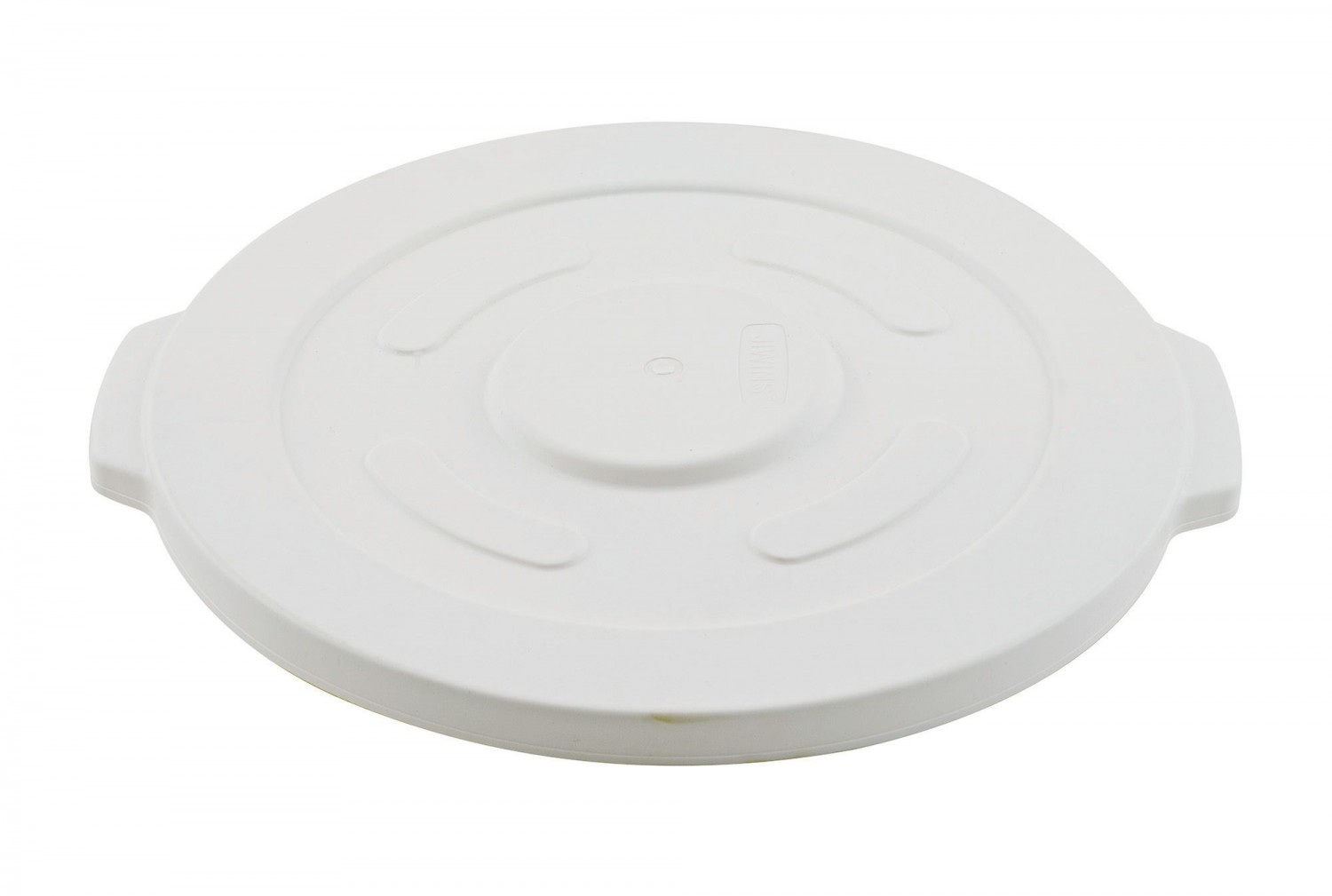 Winco FCW-10L Lid for White Polypropylene Container 10 Gallon
