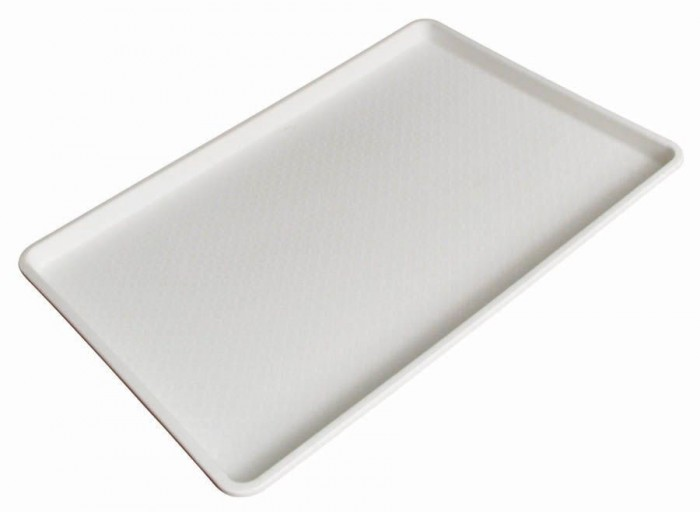 "Winco FFT-1826 White Plastic Fast Food Tray 18"" x 26"""