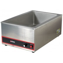 "Winco FW-S500 1200-Watt Electric Food Warmer 20"" x 12"""