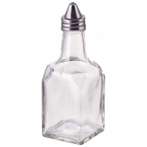 Winco G-304 Oil or Vinegar Cruet with Cone Top 6 oz.