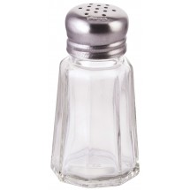 Winco G-305 Paneled Shaker with Mushroom Top 1 oz. - doz