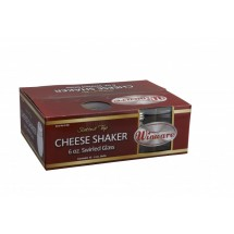 Winco G-308 6 Oz. Cheese Shaker with Slotted Top