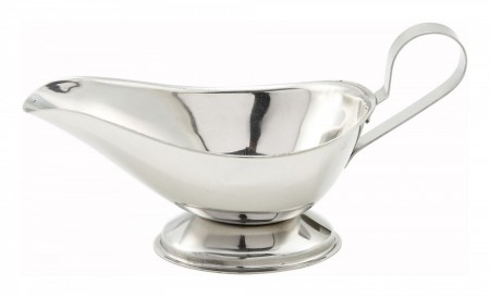 Winco GBS-5 Stainless Steel Gravy Boat 5 oz.