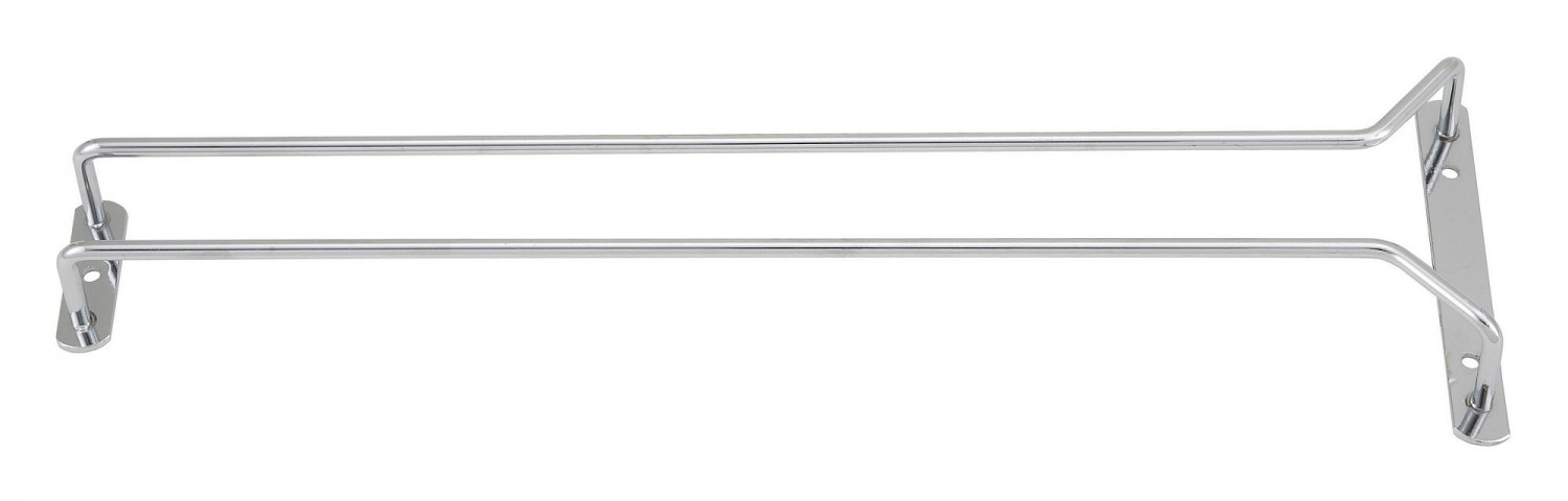 Winco GHC-16 Chrome Plated Wire Glass Hanger 16""