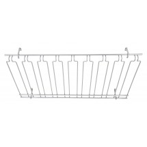 "Winco GHC-1836 Chrome-Plated Overhead Glass Rack 18"" x 36"" x 4"""