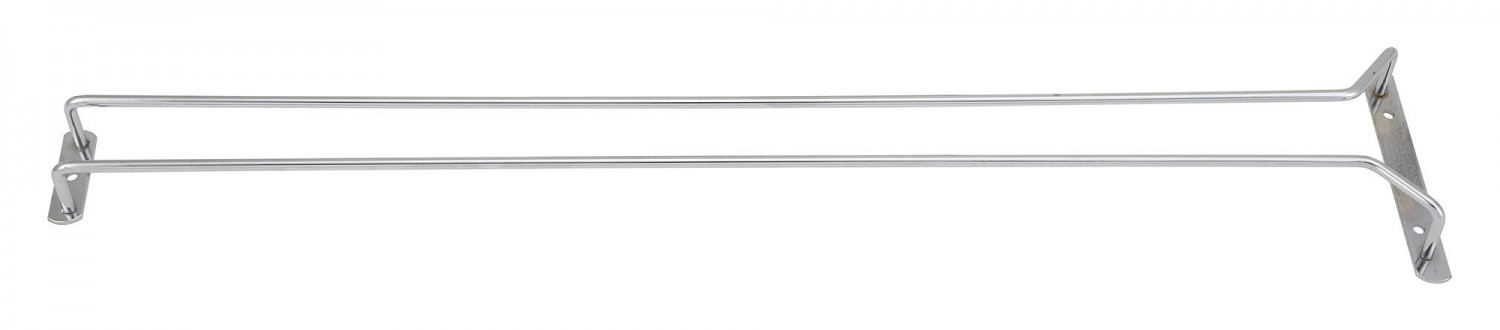 Winco GHC-24 Chrome Plated Wire Glass Hanger 24""