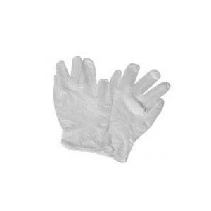 Winco GLFP-L Large Powder Free Vinyl Disposable Gloves - 100 Pieces