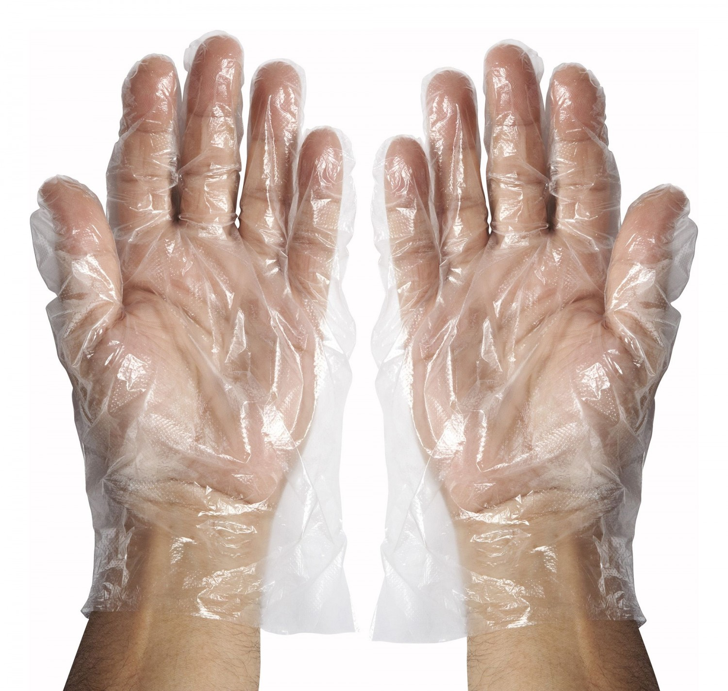 Winco GLP-M Medium Disposable Gloves- 500 Pieces