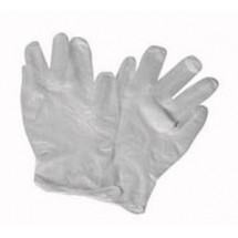 Winco GLV-L Large Powder-Free Vinyl Disposable Gloves - 100 Pieces