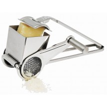 Winco GRTS-1 Stainless Steel Cheese Grater with Drum