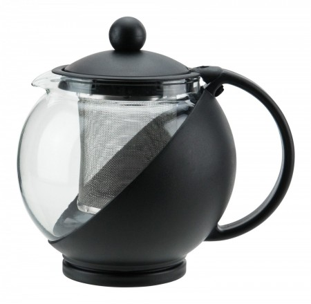 Winco GTP-25 Glass Teapot with Infuser Basket 25 oz.
