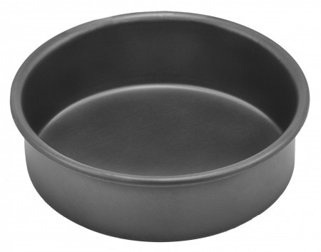 """Winco HAC-062 Deluxe Hard Anodized Aluminum Round Cake Pan 6"""" x 2"""""""