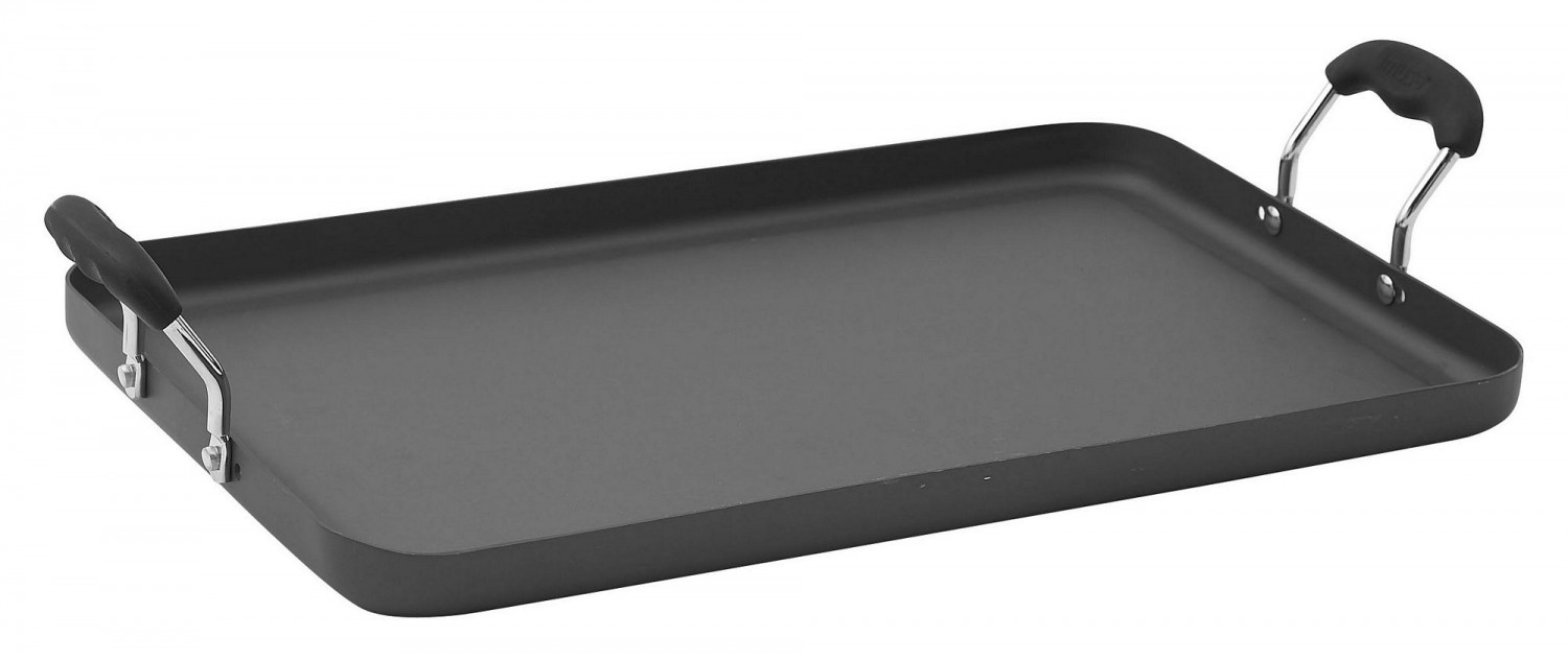 "Winco HAG-2012 Deluxe Griddle, 19-5/8"" x 12-1/4"""